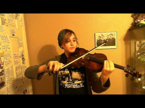 Gifts And Curses by Yellowcard - Violin Cover