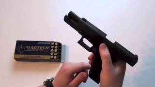 How to load aฑd unload a Glock pistol