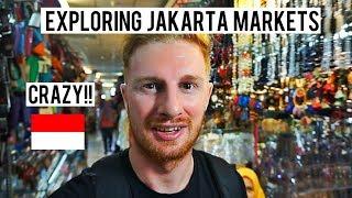 EXPLORING CRAZY JAKARTA MARKETS (TANAH ABANG/PASAR BARU)