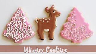 Deer Winter Cookies