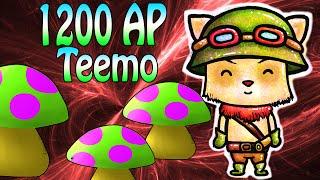 1200+ FULL AP TEEMO - Solche Pilze habt ihr noch nicht gesehen