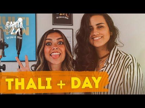 Thalita Meneghim e Day ensaiam música para Carol Biazin  Canta Lá Na Casa De Praia
