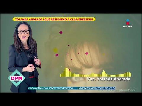 ¡Yolanda Andrade dice que fue Olga Breeskin fue testigo de la relación de ella con Verónica Castro!