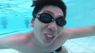 Khám Phá Bể Bơi Dương Nội | Bị Gái Xinh Gạ Dạy Bơi :)