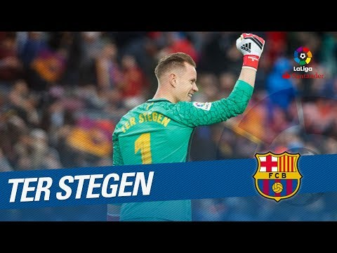 Ter Stegen Best Saves LaLiga Santander 2017/2018