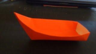 Cara Membuat Origami Perahu Sendok | Origami Perahu