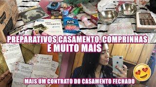 FAZENDO ARTES DO CASÓRIO, PRESENTES PRA NOSSA CASA, FECHAMOS MAIS UM CONTRATO E MUITO MAIS
