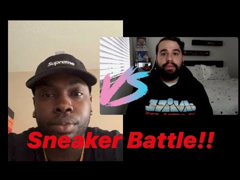 Sneaker Battle!! TA VLOGS VS JERRYTHESAMURAI. GRAILS WERE BROUGHT OUT!! HEAT in EVERY Round!