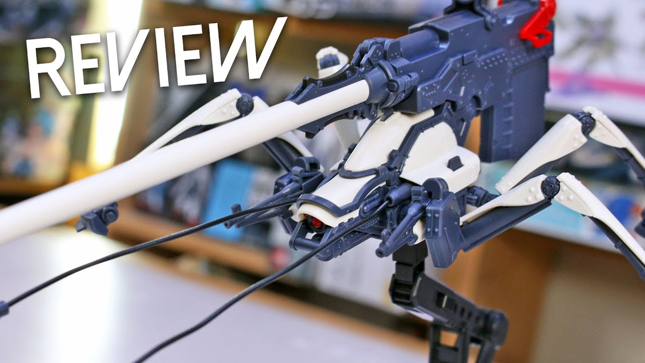 HG Juggernaut [Long Range Cannon Type] - 86 UNBOXING and Review