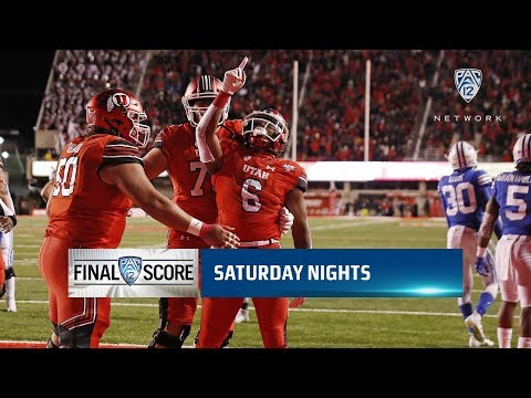Highlights: No. 17 Utah football scores 28 straight points in comeback win over BYU