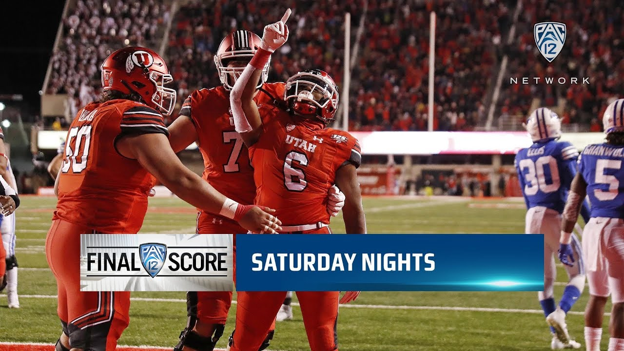 Highlights No 17 Utah Football Scores 28 Straight Points In