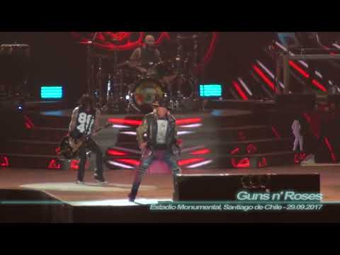 Guns n' Roses - Paradise City ( Estadio Monumental, Santiago de Chile - 29.09.2017 )