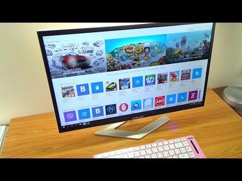 КИТАЙСКИЙ 2 в 1 МОНИТОР-КОМПЬЮТЕР / Windows 10 Pro Установка !