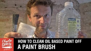 How to Clean Oil Paint Brushes - with ALL White Spirit Recycled!