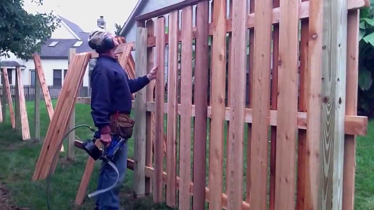 Lannis Fence Installation Youtube