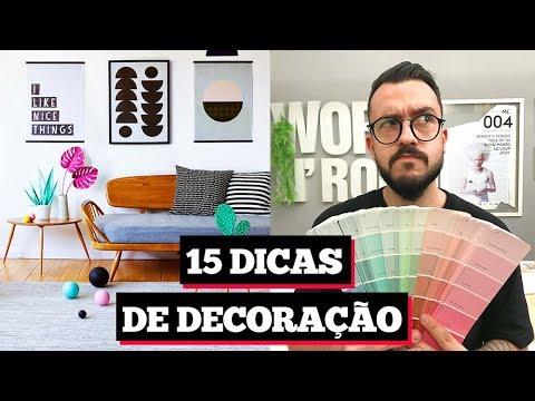 15 DICAS PARA DECORAR, COMO COMBINAR CORES  e mais   Paulo Biacchi