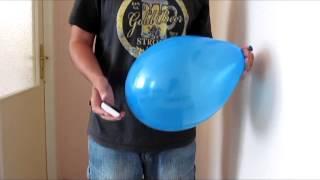 Tajemství balónku - skvělý a zároveň jednoduchý kouzelnický trik pro začátečníky