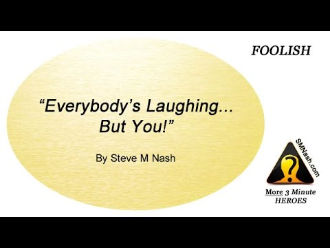 Thoughts About Foolishness - More 3 Minute Heroes