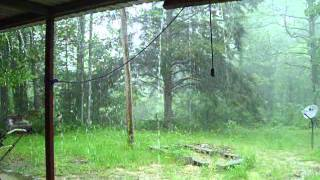 Entire Thunder Storm Bad Weather Caught On Tape