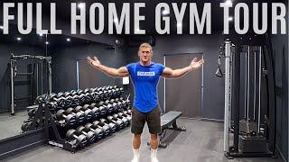 I built my DREAM HOME GYM | Full Home Gym Tour