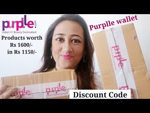 Purplle Haul With Discount code | Cosmetics & Beauty Products | Shopping from Purplle Wallet.