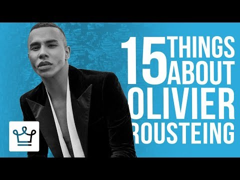 15 Things You Didn't Know About Olivier Rousteing