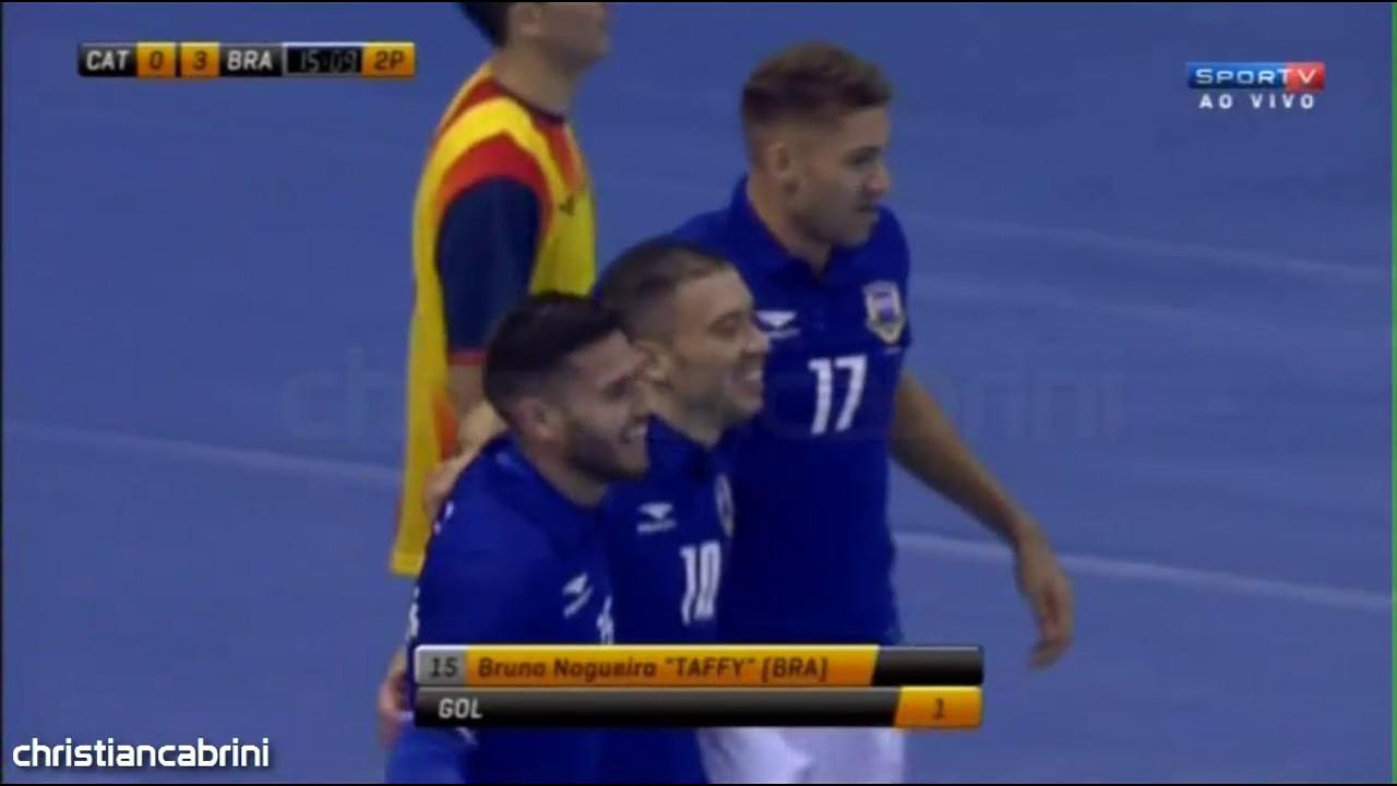 Lances e Gols  Brasil 4x0 Seleção da Catalunha - Amistoso Internacional de  Futsal 29 01 2017 - YouTube 89742851eba0b