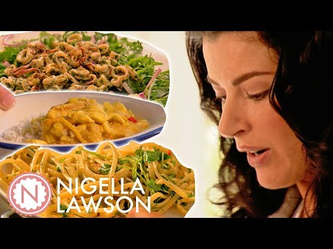 Best Of Nigella Lawson's Seafood Dishes | Compilation