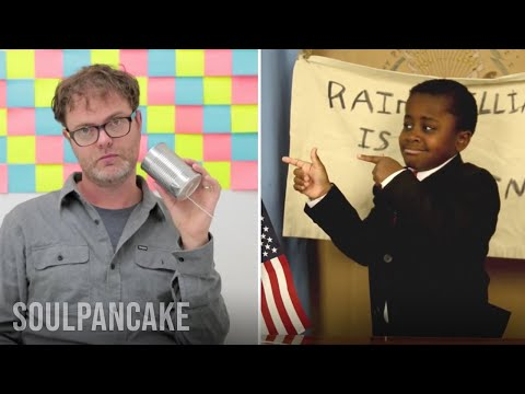 Kid President Interviews Rainn Wilson
