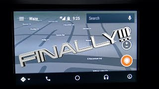 Waze on Android Auto!