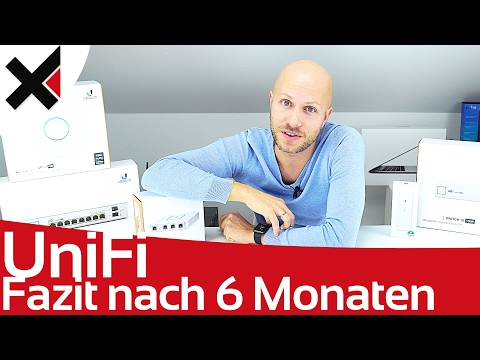 Ubiquiti UniFi Fazit nach 6 Monaten (AP AC Pro, Switch, Security Gateway, CloudKey) | iDomiX