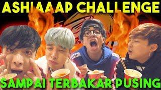 ASHIAAAP CHALLENGE!! Makan Sampai Terbakar dan Pusing.. + QnA with GTI BOYS