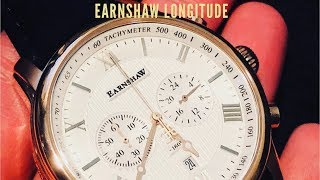 Thomas Earnshaw Longitude Chronograph Review - A Classy Dress Watch Under $200