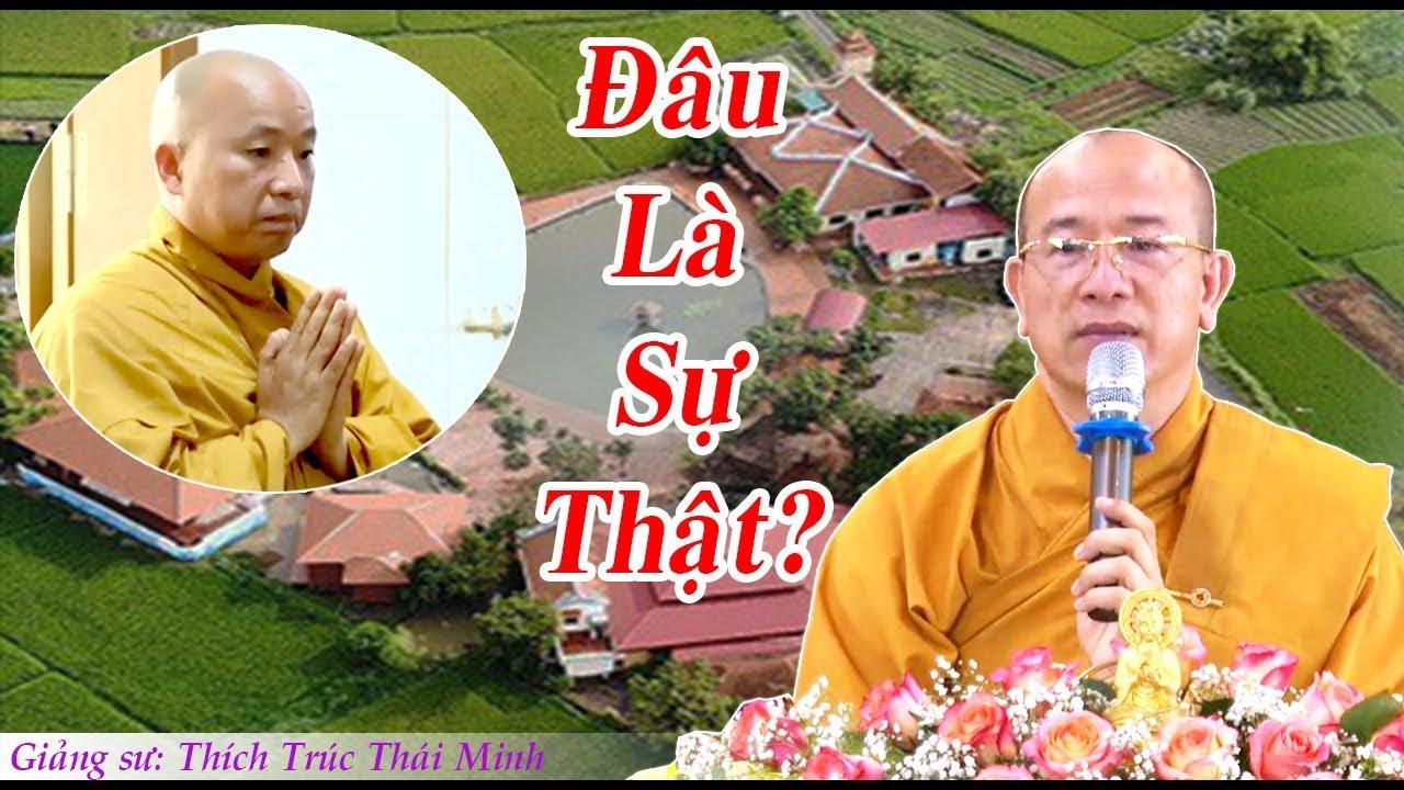 Thầy Thái Minh nói gì về Vụ SƯ TOÀN GẠ TÌNH phóng viên và Kịch Bản phía sau...