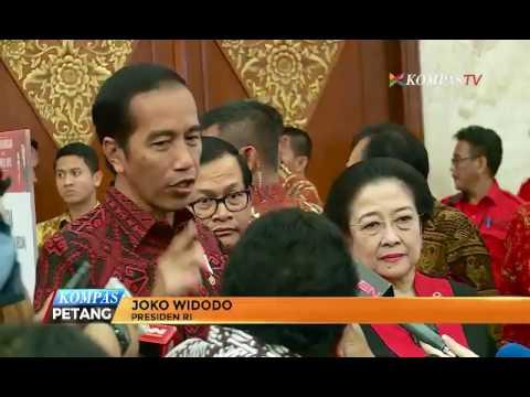 Jokowi: Yang Ganggu Presiden Akan Dilawan PDI-P