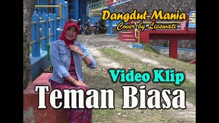 [Dangdut] Teman Biasa - Evie Tamala !! (Cover) Video Klip : Lieswati Bunga Desa
