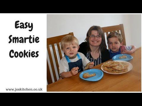 Easy Smartie Cookies: Cooking With Kids | Joskitchen.co.uk