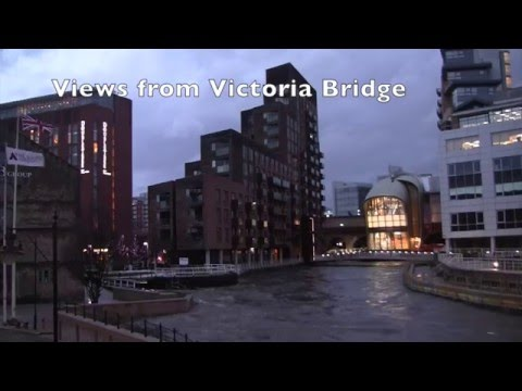 Leeds City Centre Floods, Leeds, West Yorkshire, UK - 26th December, 2015