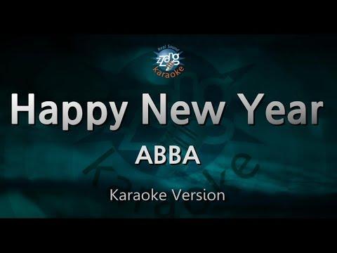 ABBA-Happy New Year (Melody) (Karaoke Version) [ZZang KARAOKE]