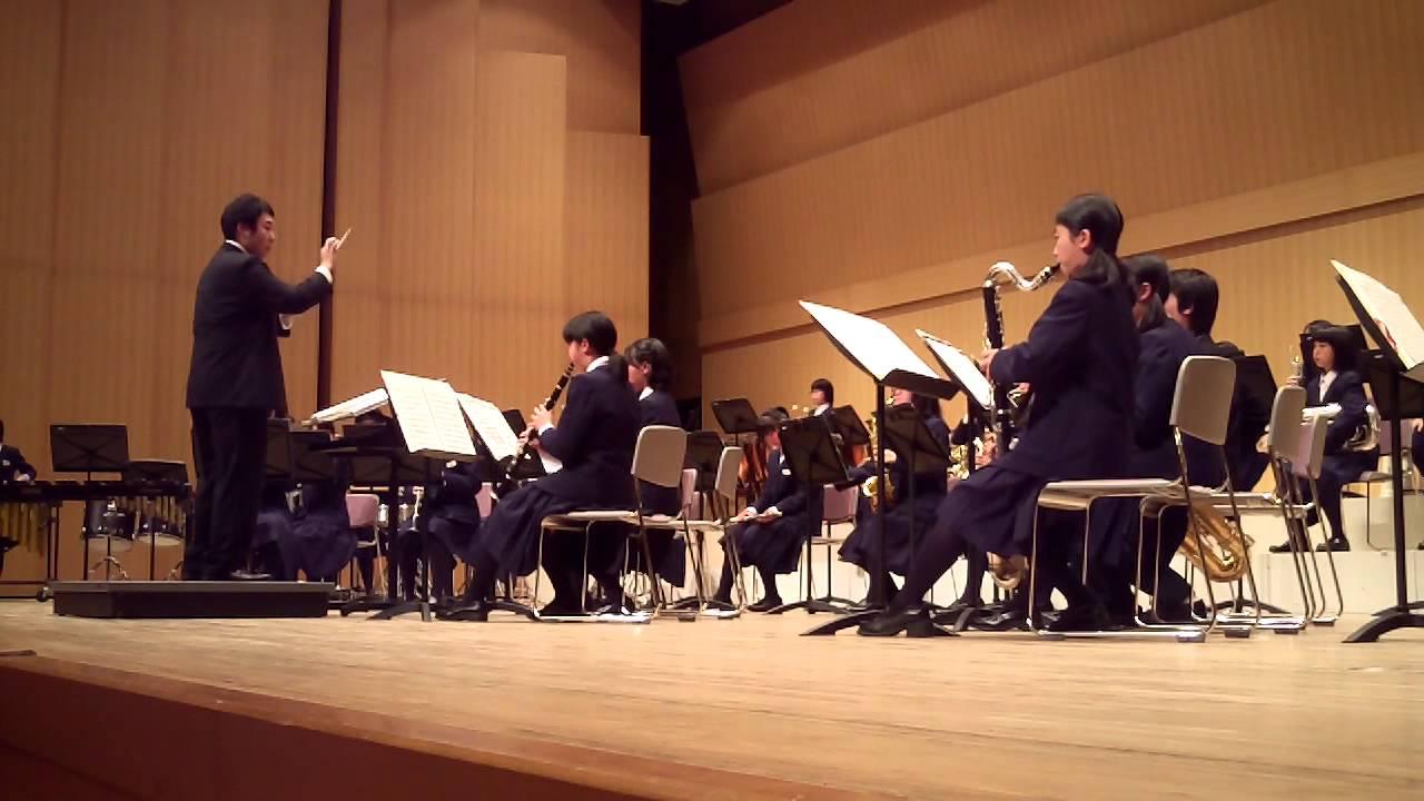 吹奏楽の日コンサート 米沢市立第三中学校 - YouTube