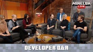 MINECON Live 2019: Developer Q&A