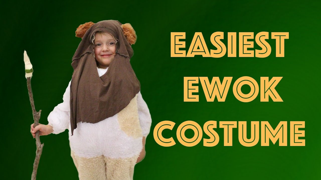 sc 1 st  YouTube & Ewok Costume - YouTube
