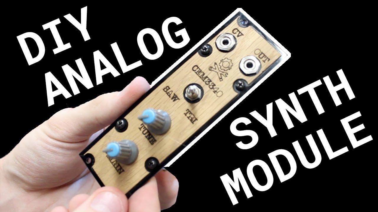 Making a DIY SYNTH Module!