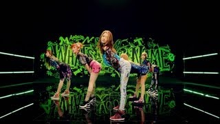 4minute 이름이 뭐예요? whats your name? official music video