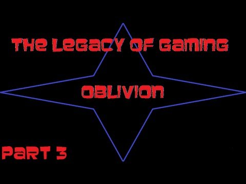 The Legacy of Gaming: Oblivion (Part 3) - Escaping the Sewers