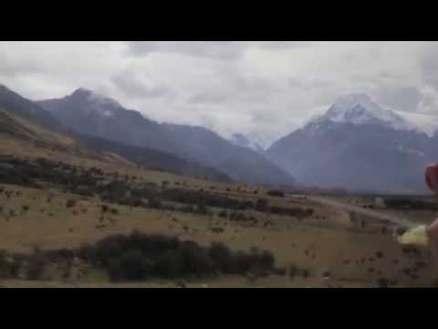 Queenstown to Mount Cook Aoraki National Park Bus Ride