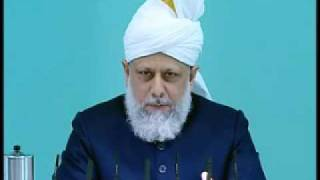 Friday Sermon: 16th October 2009 - Part 3 (Urdu)