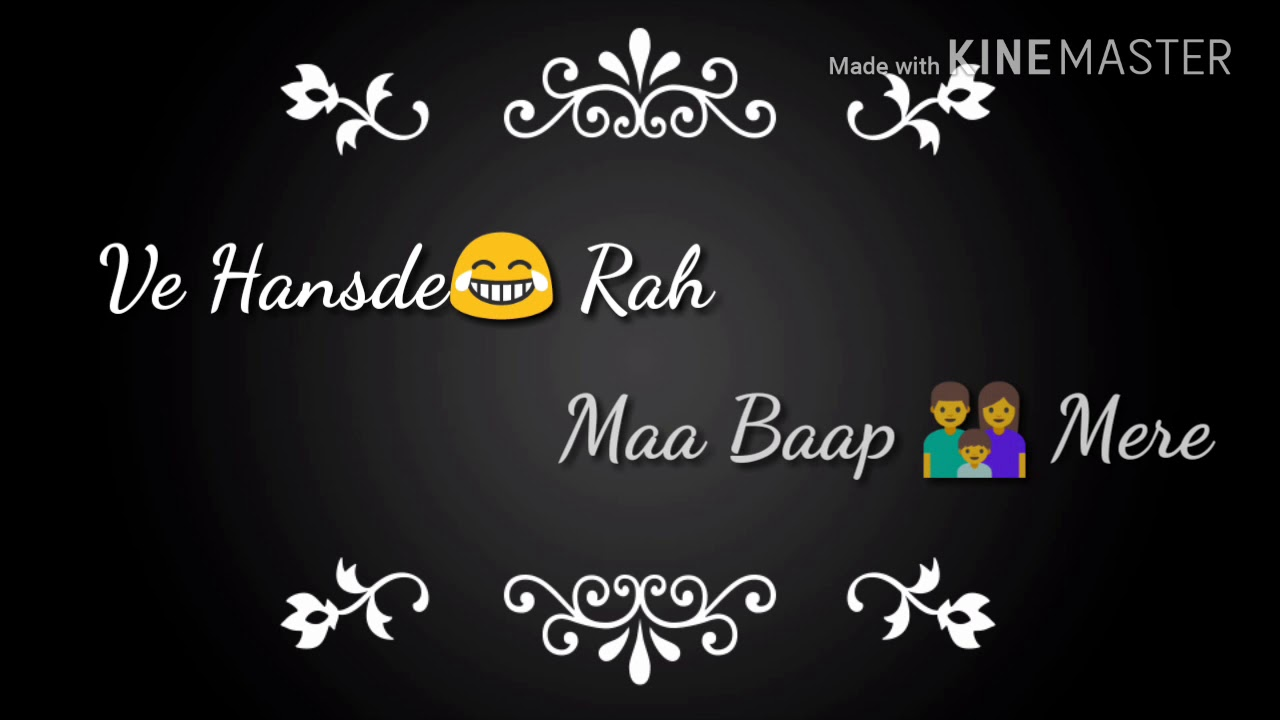 Heart Touching Status For Parents Maa Baap Mere Youtube
