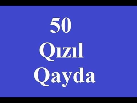 Məntiqdən 50 Qızıl Qayda