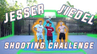 Basketball Shooting Challenge with Jesser and Jiedel from 2HYPE!